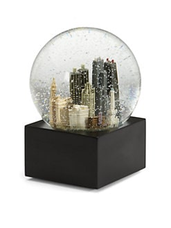 Saks Fifth Avenue - Chicago Snow Globe