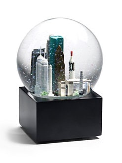 Saks Fifth Avenue - Houston Snow Globe