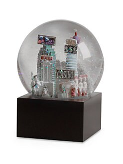 Saks Fifth Avenue - Las Vegas Snow Globe