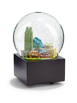 Saks Fifth Avenue - Raleigh Snow Globe