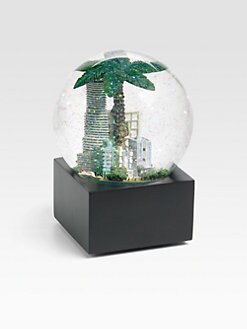 Saks Fifth Avenue - Miami Snow Globe