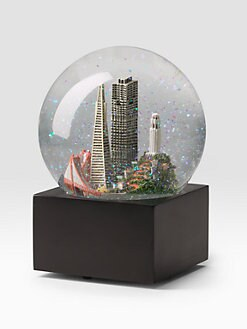 Saks Fifth Avenue - San Francisco Snow Globe