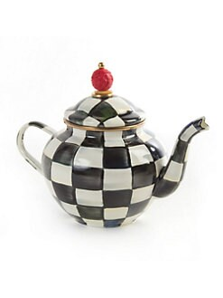 MacKenzie-Childs - Courtly Check Teapot