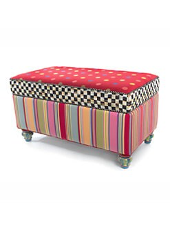 MacKenzie-Childs - Playhouse Storage Bench