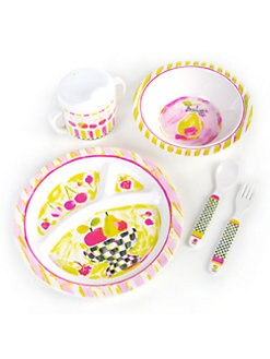MacKenzie-Childs - Children's Fruit Motif Dinnerware Set