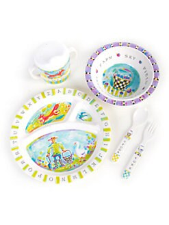 MacKenzie-Childs - Children's Animal Farm Dinnerware Set