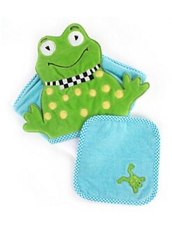 MacKenzie-Childs - Children's Hooded Frog Towel