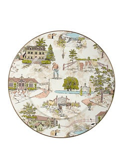 MacKenzie-Childs - Aurora Enamel Serving Platter