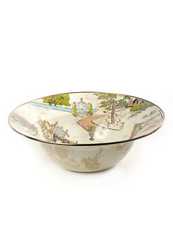 MacKenzie-Childs - Aurora Enamel Serving Bowl