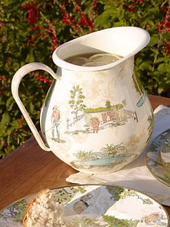 MacKenzie-Childs - Aurora Enamel Pitcher