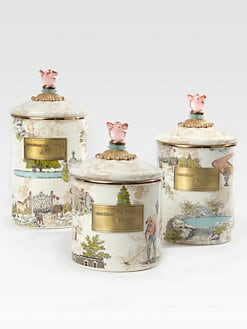 MacKenzie-Childs - Aurora Enamel Canister