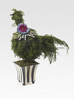 MacKenzie-Childs - Spring Chicken Topiary