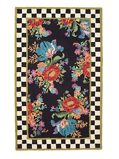 MacKenzie-Childs - Flower Market Wool Rug