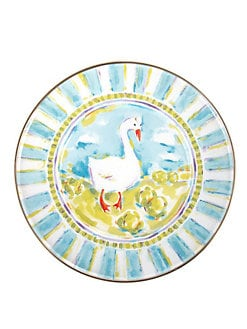 MacKenzie-Childs - Simon Children's Plate