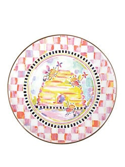 MacKenzie-Childs - Bee Children's Plate