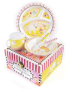 MacKenzie-Childs - Lamb Toddler Dinnerware Four-Piece Set