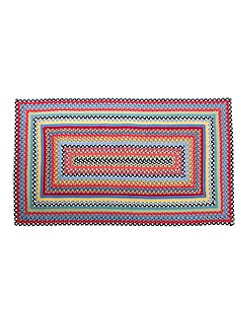 MacKenzie-Childs - Crayon Braided Rug