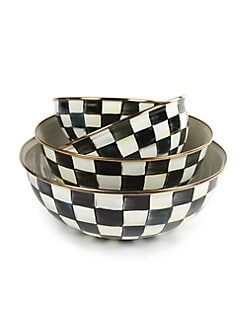 MacKenzie-Childs - Courtly Check Everyday Bowl