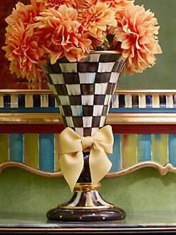 MacKenzie-Childs - Courtly Check Large Vase