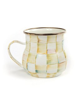 MacKenzie-Childs - Parchment Check Mug