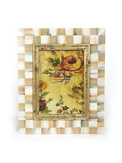 MacKenzie-Childs - Parchment Check Picture Frame