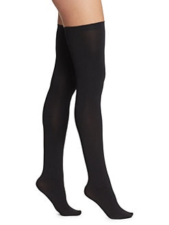 Wolford - Fatal Stay-Up 80 Thigh-Highs
