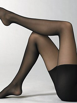 Wolford - Lace-Up Sheer Hose