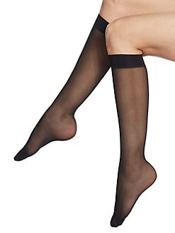 Wolford - Individual 10 Sheer Knee-Highs