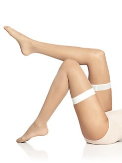 Wolford - Eyla Sheer Thigh-Highs