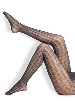Wolford - Pascale Houndstooth Tights