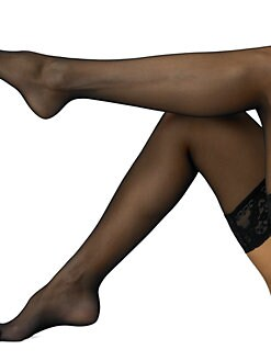 Wolford - Affaire 10 Sheer Thigh-Highs