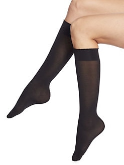 Wolford - Velvet de Luxe Knee-Highs