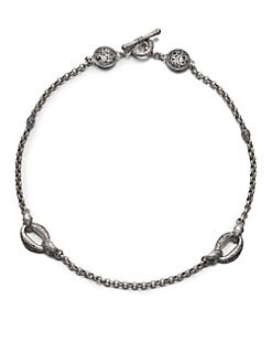Konstantino - Sterling Silver Station Necklace