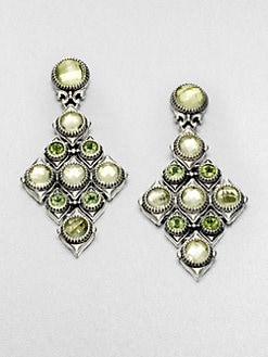 Konstantino - Semi-Precious Multi-Stone Sterling Silver Cascade Earrings