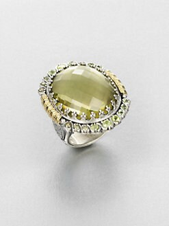 Konstantino - Semi-Precious Multi-Stone Sterling Silver & 18k Gold Cocktail Ring