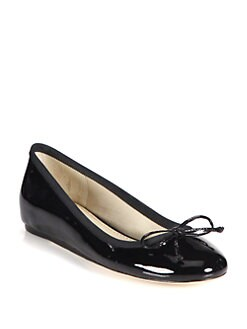 10022-SHOE Saks Fifth Avenue - Loralei Patent Leather Ballet Flats