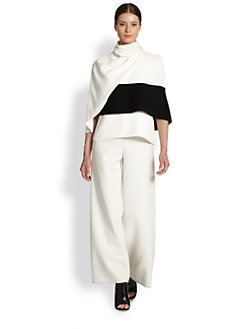Derek Lam - Turtleneck Wrap Top