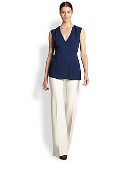 Derek Lam - Silk Wrap Top