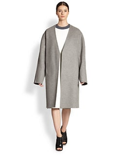 Derek Lam - Double Face V-Neck Coat