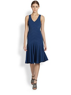 Derek Lam - Seamed Bodice Dress
