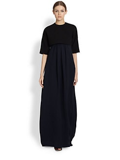 Derek Lam - Strapless Silk Twist Gown