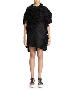 Comme des Garcons - 3D Ruffle Dress