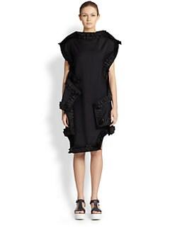Comme des Garcons - Ruffle-Trimmed Dress