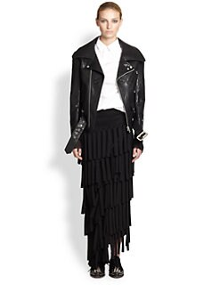 Junya Watanabe - Faux Leather Moto Jacket