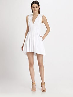 Thakoon - Pleated Poplin Dress