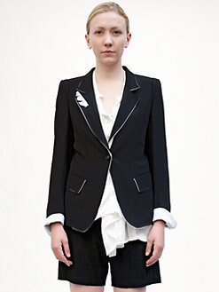 Ann Demeulemeester - Contrast Jacket