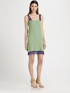 Thakoon - Checked Organza Dress