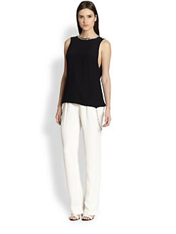 Thakoon - Beaded Trim Tank