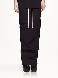 Rick Owens - Techno Faille Skirt