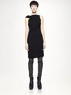 Rick Owens - Tuni Scarf Dress